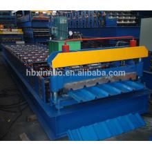 EN standard roofing tile metal sheet roll forming machine as customized