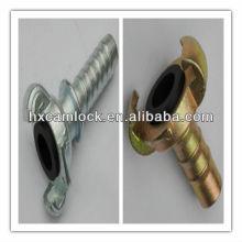 Universal crowfoot couplings hose end