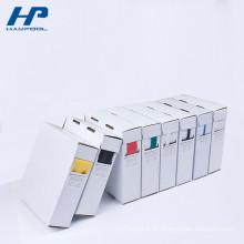 Produtos personalizados da caixa de papel da impressão da produção do tamanho