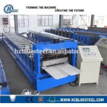 Цвета Стальной стоячий шов Roof Panel Roll Forming Machine / Высококачественная самоклеющаяся листовая рулонная формовочная машина