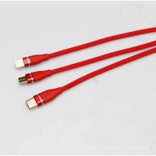 3 в 1 быстрый кабель USB