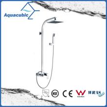 Wall Mount Chromed Single Handle Brass Bath Shower Faucet (AF6015-7B)