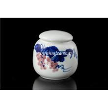 Pintura de uva cerámica contenedores
