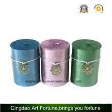 Metallic Pillar Candle Supplier for Christmas Decor