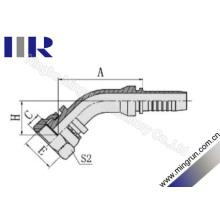 Garnitures hydrauliques femelles de 45 degrés Orfs (24241)