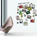 Decorative Wall Stickers New Design Superior Quality Family Photo Frame Custom Home Decor Removable Wall Sticker