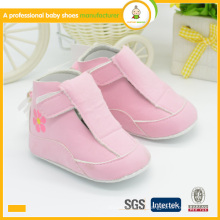 Chaussures bébé en cuir semelle douce