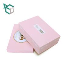 Прекрасный Розовый Кролик Дизайн Подарок Топ И База Бумажная Коробка