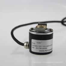 Ihc3806 eje de 5-30V DC Diámetro6mm 1000PPR eje hueco codificador incremental rotativo