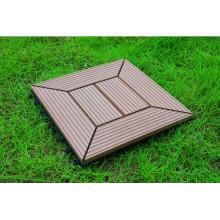 Waterproof and UV Resist WPC Interlocking Tile 20years Warranty