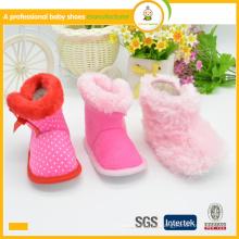 2015 heißer Verkauf des heißen Verkaufs des neuen Artart und weises Winter warme Babyaufladeschuhe