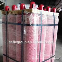 factory hot sale 45kg 68L high pressure steel carbon dioxide CO2 gas cylinder fire extinguisher