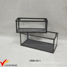Ручной ретро металлический рамный витрина