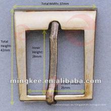 Cinturón de pistola de metal / hebilla de bolsa (M16-239A)
