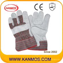 Промышленная безопасность Cowhide Split Fll Palm Leather Work Gloves (11004)