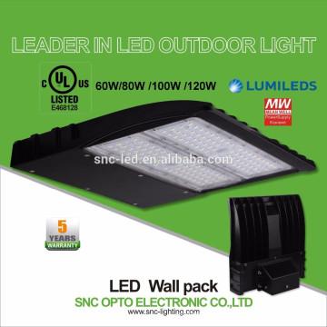 Перечисленный UL 100W вело свет пакета стены, освещение стены с 5 летами гарантированности Шэньчжэнь
