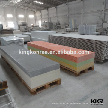 Lava rock acrylic solid surface sheet with different thickness