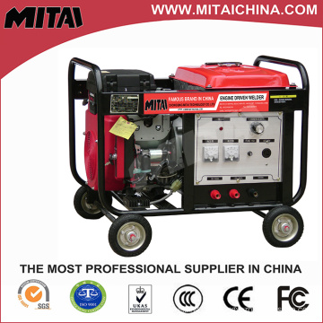 Portable Diesel Engine Driven Welder with 3kw Auxiliary Power Output