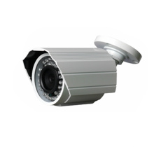 1.0MP Poe Mini Bullet Red IP Cámara de seguridad CCTV