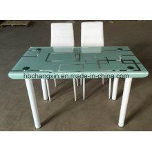 Moderno temperado vidro conjunto de mesa de jantar