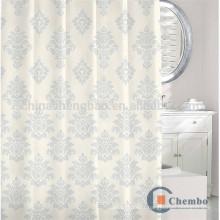 100 rideaux de douche jacquard en polyester avec tige ovale