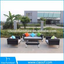 Hot selling outdoor furniture 4pcs PE rattan popular sofa set