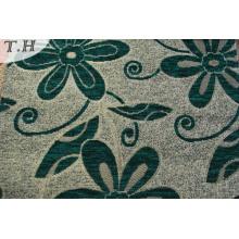 100% tissu de tapisserie d'ameublement de tissu de sofa de jacquard de polyester de polyester