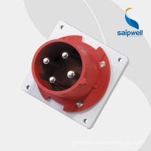Высококачественные промышленные вилки и розетки Saip / Saipwell с сертификацией CE (16А, 32А, 63А, 125А, 250А, 420А)