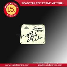 Hersteller helle Leder Abzeichen für Tasche