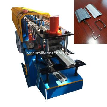 Rolling shutter door making machine