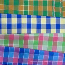 Arten von Garn gefärbten Hemd Stoff