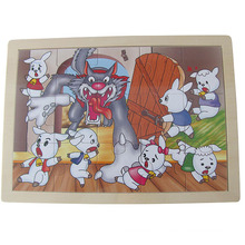 Educational Wooden Toys New Wooden Puzzle (34764)