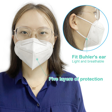 FFP2 N95 5 Ply Face Mask Unisex