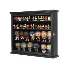 Custom Minifigure Display Case Minifigure Glass Cabinet Storage Containers Figure Frame Box