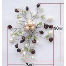 Gets.com reloj de enfermera broche de piedras preciosas