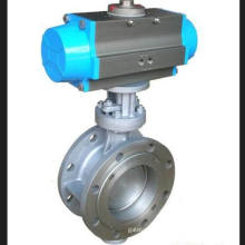 Pneumatic Hard Seal Flanged Butterfly Valve