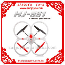 HJ-991 2014 NUEVO quadcopter rc grande con cámara 6 ejes HJ-991 rc UFO con giroscopio