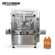 bag sauce cosmetic pneumatic piston small manual honey paste perfume automatic oil pouch powder bottles liquid filling machine