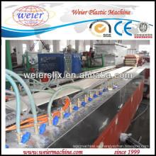 Maquinaria de 100% reciclable compuesto WPC azulejos de la cubierta