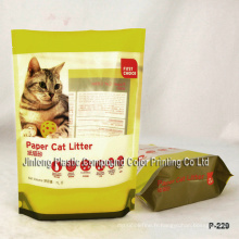 Sac à litière en plastique pour chat