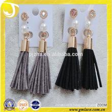 China Supplier Wedding Dresses grayTassel Earring