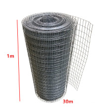 Top Sales 1x30m Factory ISO Stainless Steel Protection Roll Welded Wire Mesh Animal Garden Pet Chicken Coop Aviary Fencing