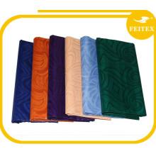 Latest Fashion Long Top Design Dress Fabric Handmade Bazin Riche High Quality African Fabrics