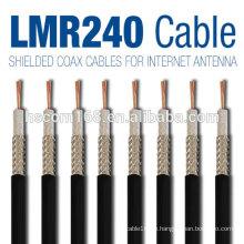 Rg9 / rg6 Koaxialkabel / koaxiales rg48 / rg58 / rg59 / rg123 Kabel mit koaxialen Kabelverbindern