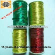 Shiny Metallic cuerda elástica cuerda elástica