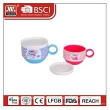 Platic кофе кружка с крышкой 0.42/0.72L