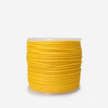 China factory Hollow braid polypropylene rope with 500ft in roll