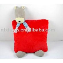 мягкая симпатичная подушка игрушка