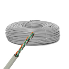 Cat5e UTP Solid Bare Copper Cable Ethernet 305m / 1000FT Boîte de traction