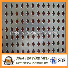 Perforated metal square hole punch